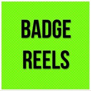 All badge reels listed 2 for $10 or 3 for $13!